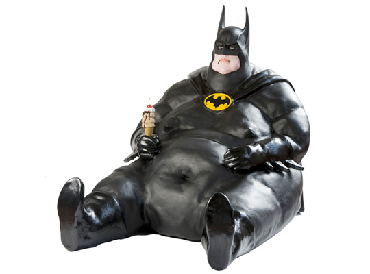 fat batman and robin