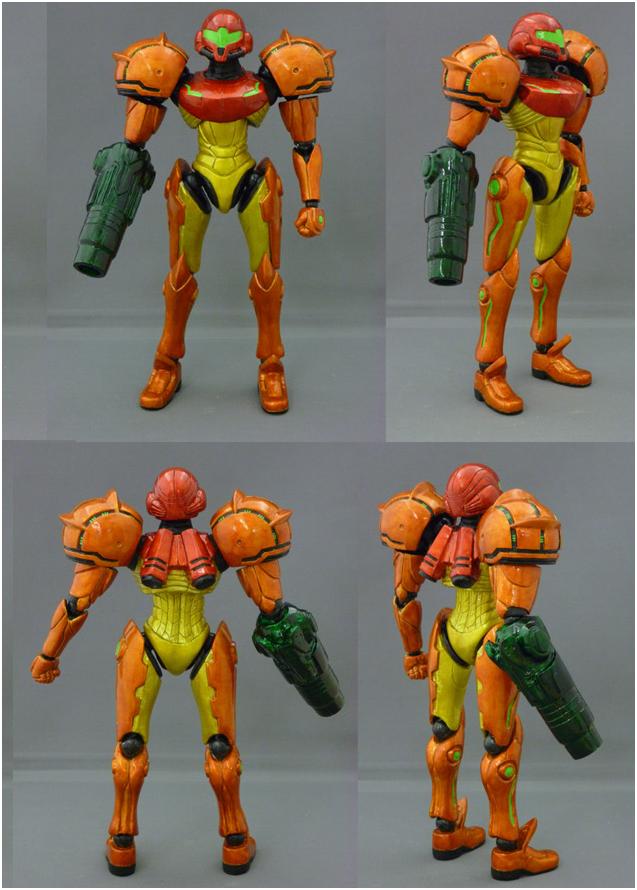 16bit.com: Toy Archive: Samus Aran action figure from Metroid (Joy ...