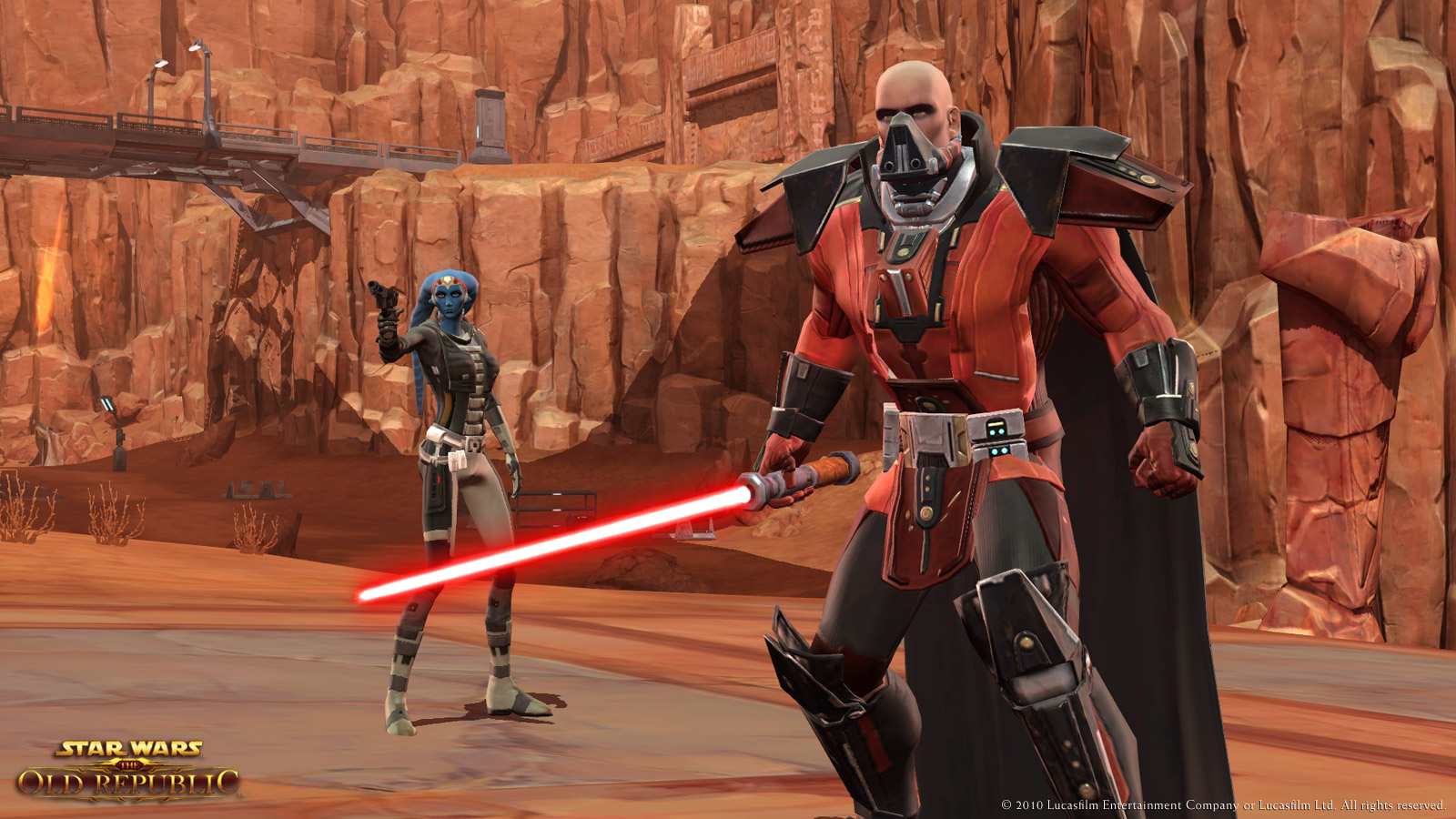 Star Wars the Old Republic Sith screenshot