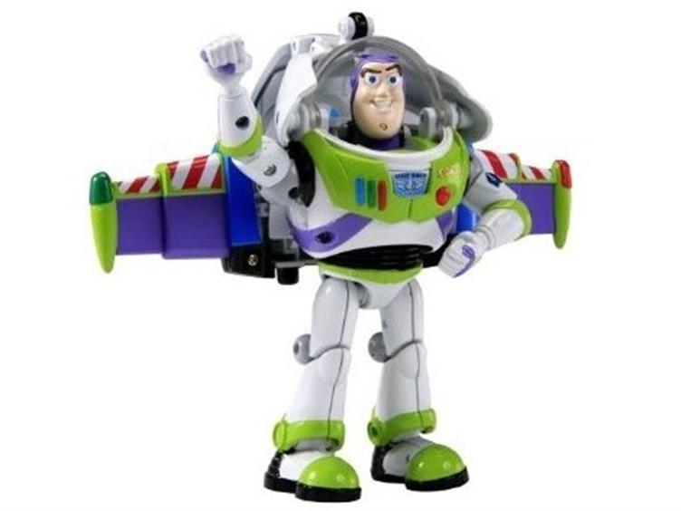 Buzz Lightyear/Spaceship Transformer
