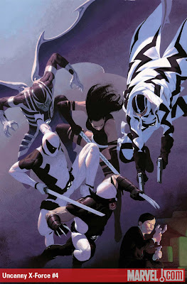 123 Uncanny X Force 4 The 72 Best Comic Book Covers of 2011
