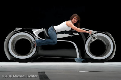 tron lightcycle 01 Black Velvet Light Cycle, Street Legal Light Cycle