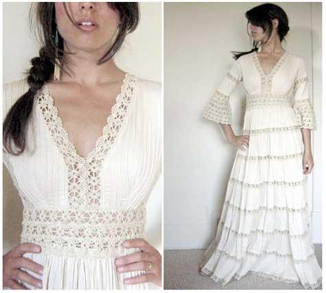 Super Punch: Vintage Mexican Wedding Dress