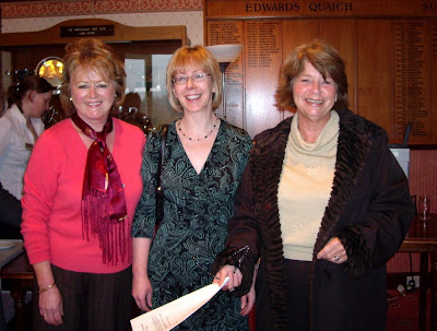 Mary Hood, Elaine Johnstone and Christeen Finlayson - Click to enlarge