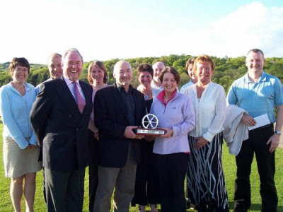Winners of the 2007 Milngavie Open Mixed Foursomes