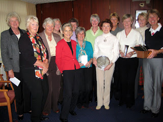The Prizewinners at the 2007 West Vets AGM