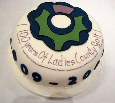 SLGA Counties Centenary Cake - Click to enlarge