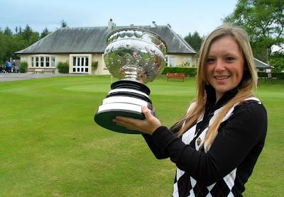 Megan Briggs - 2009 Scottish Ladies Champion - Click to enlarge