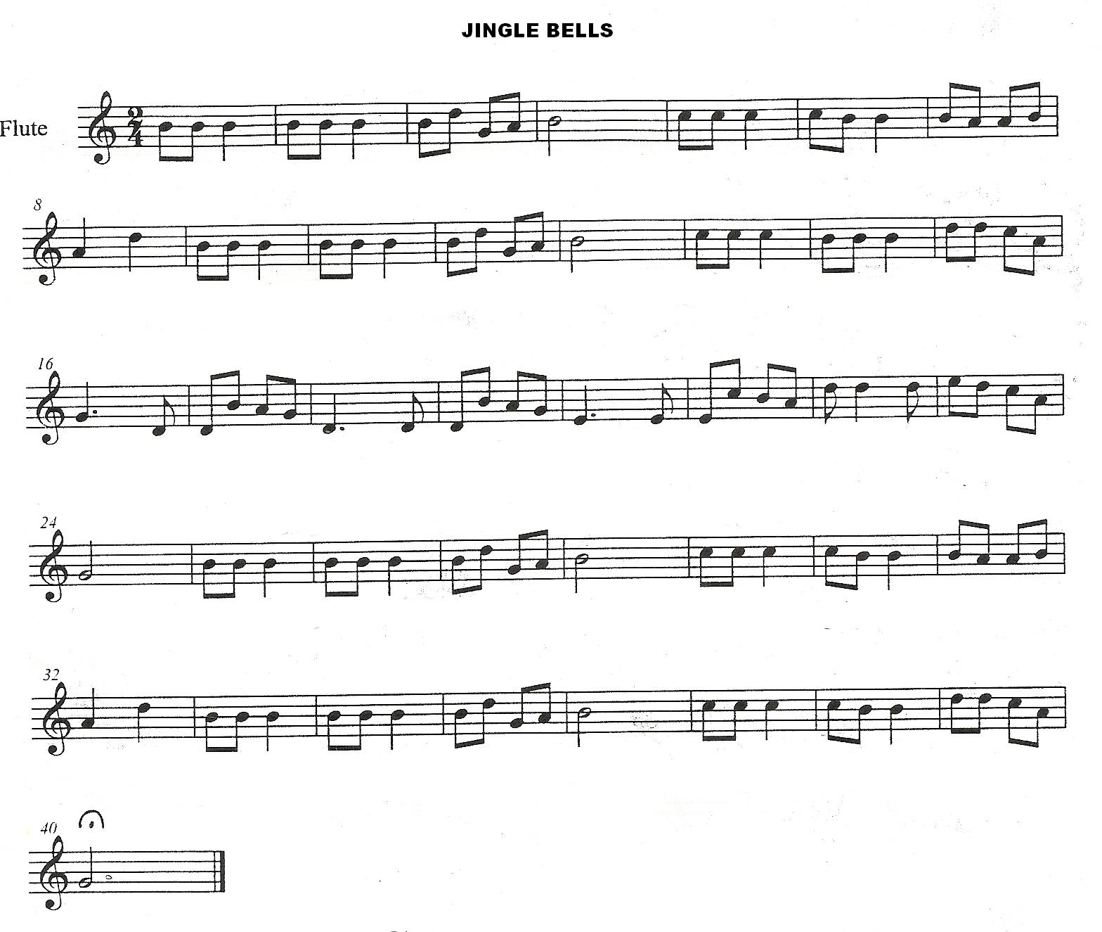 letra de canciones jingle bells: