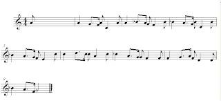 partitura para flauta de Color Esperanza 2