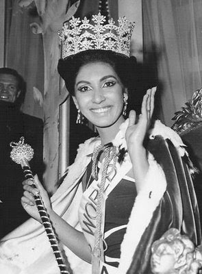 MISS WORLD HISTORY - Page 2 1966Reita+Faria+-+India