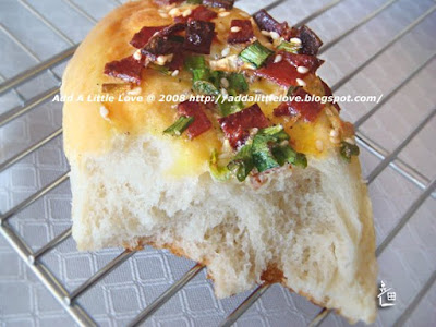 Green Onion and Bacon Bread