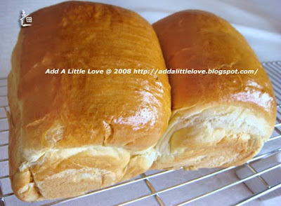 Japanese Milk Loaf