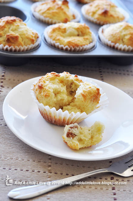 Lemon Walnut Muffins