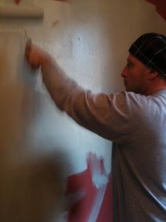 Geno Petro wall painting
