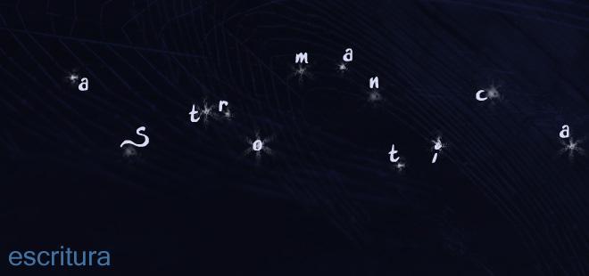Escritura astromántica