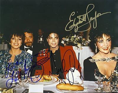 Muerte de Elizabeth Taylor Liza+Minnelli+Michael+Jackson+Elizabeth+Taylor