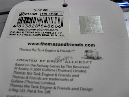 Hologram sticker with tag