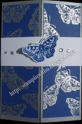 ELCTRIC BLUE Wedding Invite