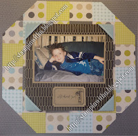 Paper Patchwork Scrapbook Page Class