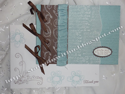 Beautiful Shabby Chic Booklet Card