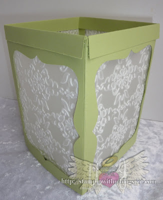 Lg Paper Lantern Tea light Cover
