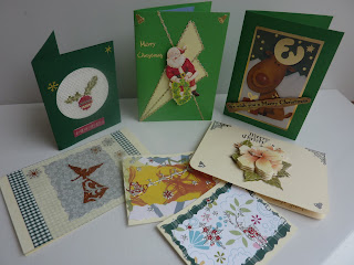 My handmade Christmas Cards 2010