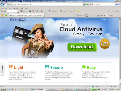 Panda Cloud Antivirus Service is raising the security bar.