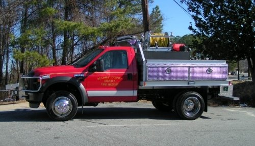 Pierce Brush Truck