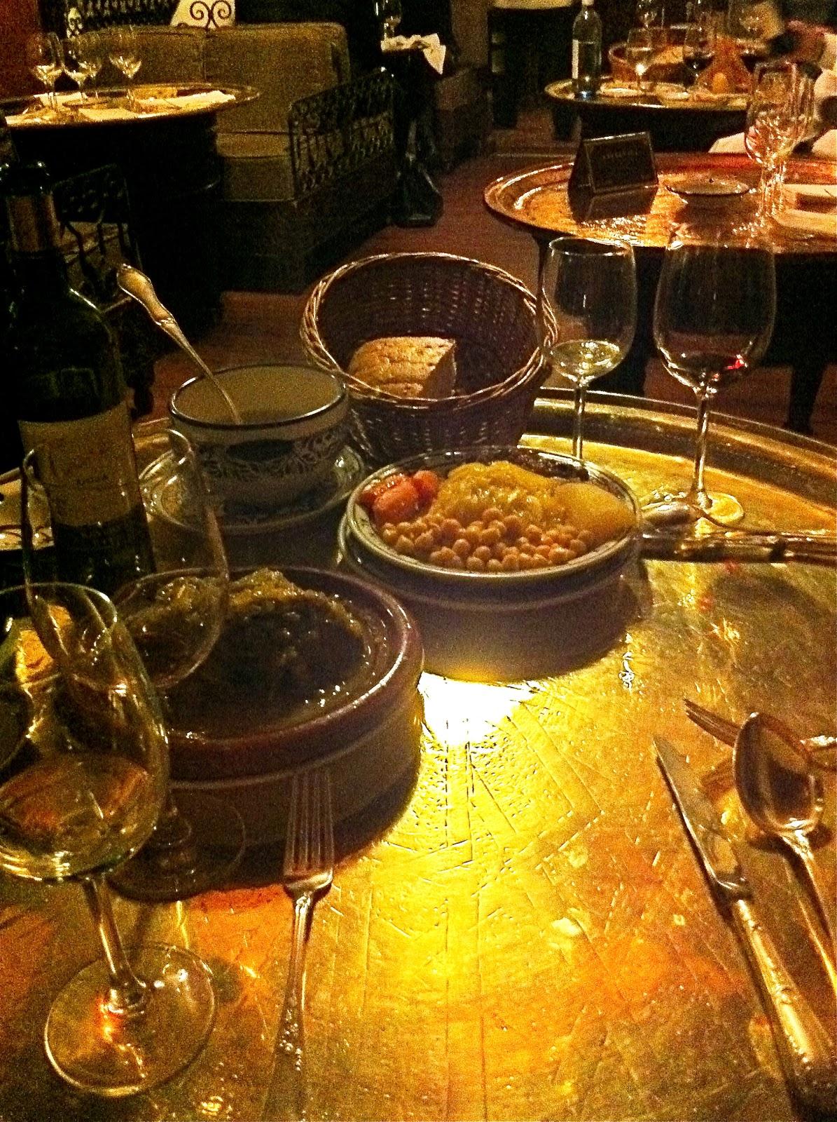 An Ever-Ready Feast: Madrid Restaurant: Al Mounia