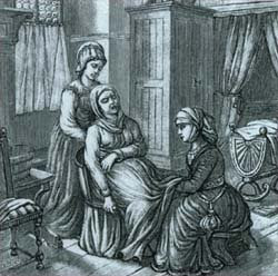 midwives in the elizabethan times The wealthiest elizabethans ate lavish meals of many courses, while many poorer people didn't even have their own ovens, and some of the poorest survived on leftover scraps from the rich liza picard describes how class, religion and politics all influenced how elizabethans shopped for food, cooked and.