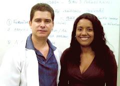 """Em 2007- ESTA DUPLA REPRESENTOU A FUNESO """"Contextualizando  na História a origem da Matemática"""""""
