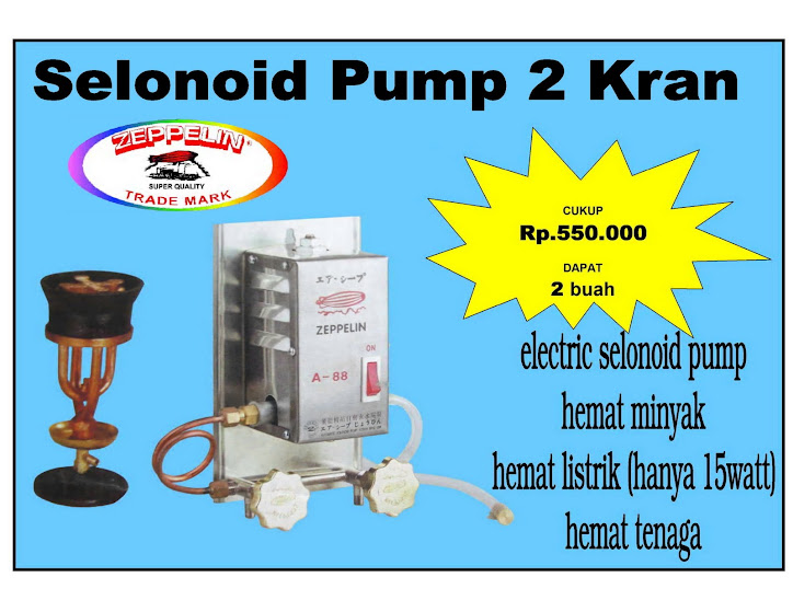 Solenoid Pump Electric (2 kran)