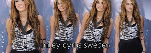 Miley Cyrus Sweden