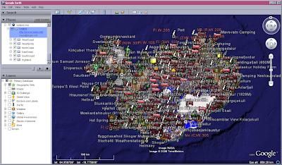 Map of Iceland for Google Earth and Google Maps | Islandia Geomatics