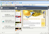 XsitePro2 Template Selection screenshot