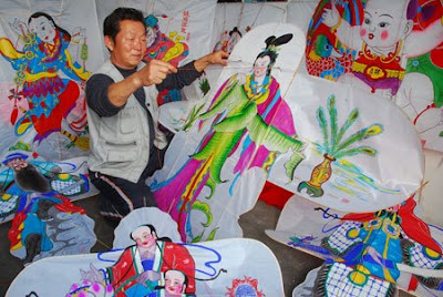 Chinese Kites and Fans