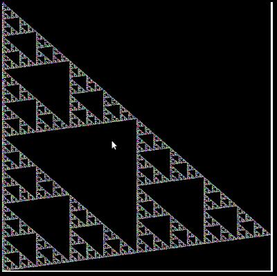 2D Sierpinski image