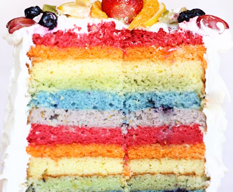 THE BUDGET BRIDES HANDBOOK Lets Eat Colored Cake