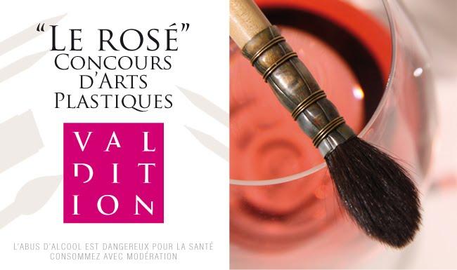 """""""Le Rosé"""" Concours d'arts plastiques"""