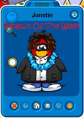 Penguin Of The Week