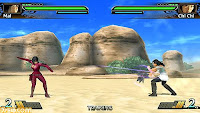 Primeras imagenes del videojuego de DragonBall Evolution Para Psp de momento 090209_30