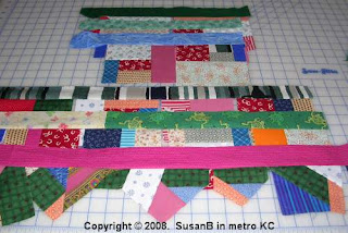 mile-a-minute quilt piecing