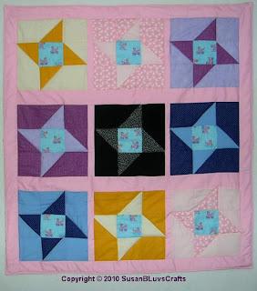 Bessie's Friendship Stars Quilt