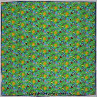 flannel quilt back