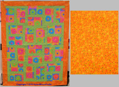 Happy Block quilt - Debby