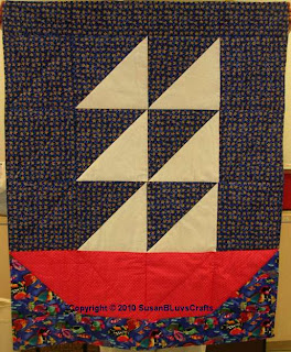 Sailboat Quilt - Debby
