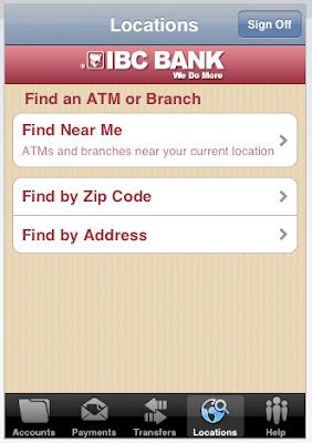 Banca Móvil por Iphone - Servicios de Localización