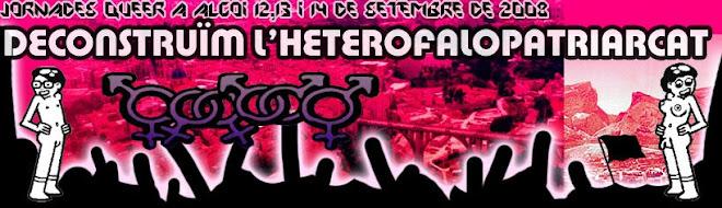 Jornades Queer a Alcoi (12, 13 i 14 de setembre de 2008)