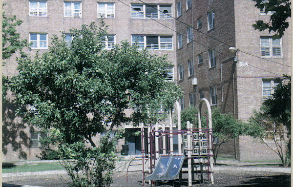 Children playground at Dearborn Homes